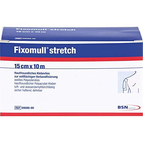 Fixomull Stretch 10 m x 15 cm Klebevlies zur vollflächigen Verbandsfixierung Reimport Kohlpharma, 1 St. Pflaster
