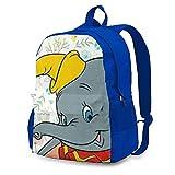 DJNGN Cute Dumbo (2) Mochila Mochila Escolar Mochila de Viaje Hombres Mujeres Adolescentes Azul