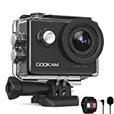 GOOKAM 4K 60fps Action Cam 20MP EIS WiFi Fotocamera Subacquea Impermeabile 40M Sott'Acqua Sports...