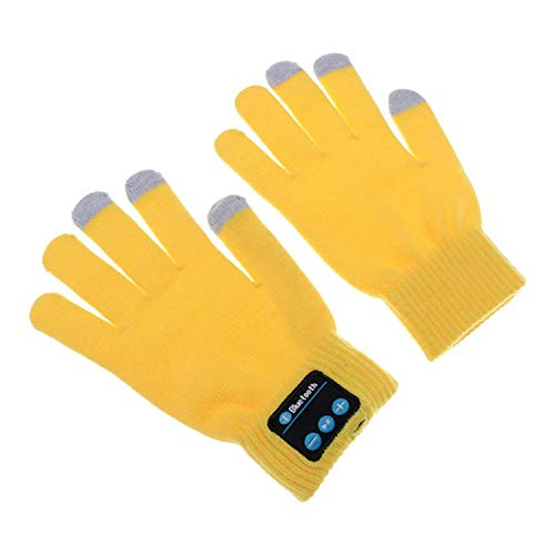 Preisvergleich Produktbild Targogo Unisex Wireless Bluetooth Winter Männer Handschuhe Musik Touchscreen Knit Warmer Handschuh Mit Integrierter Lautsprecher Mikrofon Weihnachten Geschenk Für Ihre Freunde Und Familien