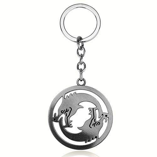 YCEOT Overwatches Keychains Anime Key Cover Schlüsselhalter Hanzo Keyring Jewelry Men