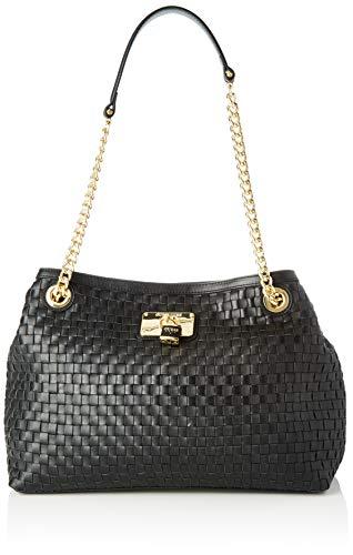 Guess - Lola, Shoppers y bolsos de hombro Mujer, Negro...