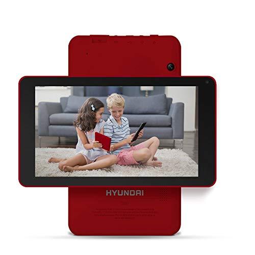 Hyundai Koral 7W4X 16GB Dual Camera Wi-Fi, Bluetooth, Quad-Core Processor, IPS Display, Android 9.0 GO [RED]