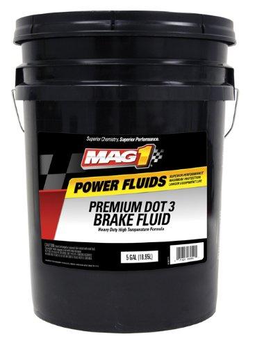 Mag 1 125 DOT 3 Premium Brake Fluid - 5 Gallon