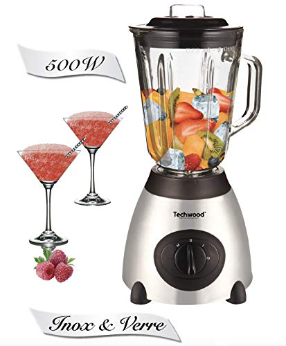 Techwood TBLI-360 Blender, 500 W, 1.5...