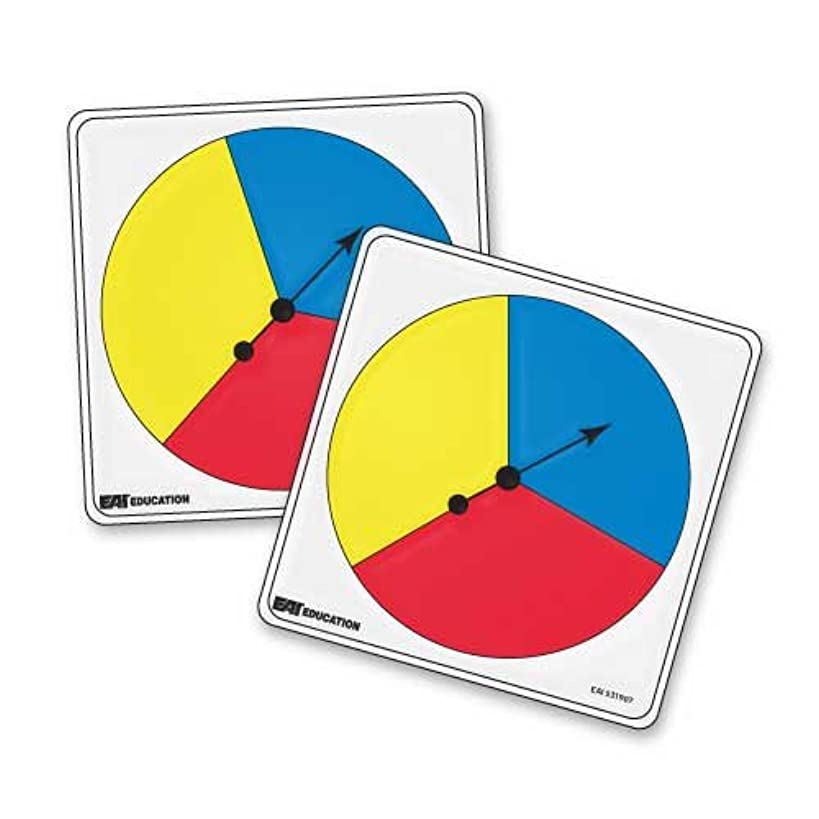 EAI Education Student Spinners - 3 Color: Set of 5