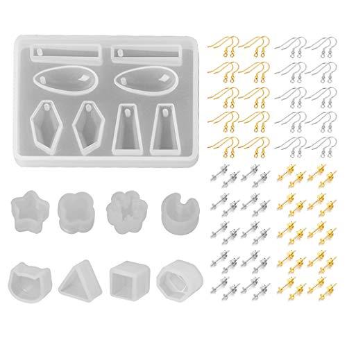 Ohrringe Epoxidform Set
