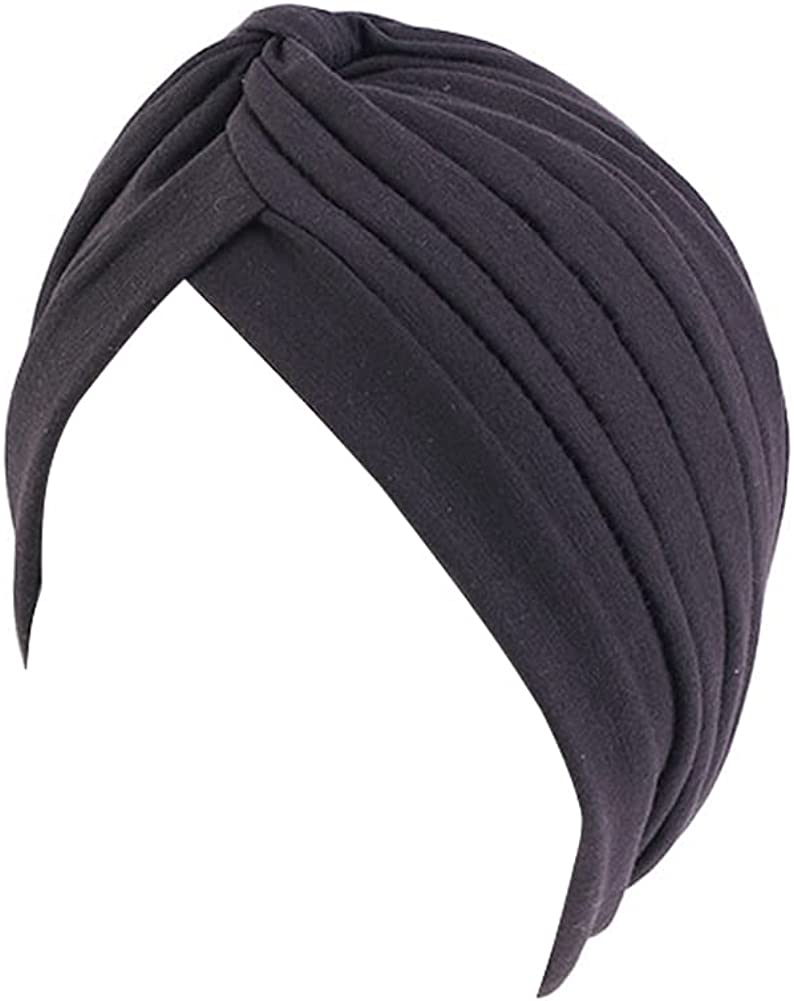 beauty YFJH Women's Cotton Turban Head Wrap Cancer Chemo Beanies Cap Headwear Cap Bonnet Hair Loss Hat