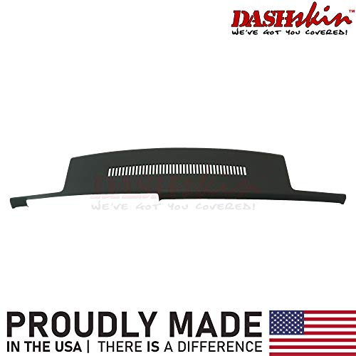 DashSkin Molded Dash Cover Compatible with 88-94 GM Trucks in Black