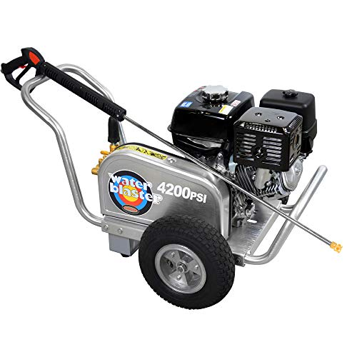 Simpson Cleaning ALWB60828 Aluminum Gas Pressure Washer Powered by Honda GX390, 4200 PSI at 4.0 GPM