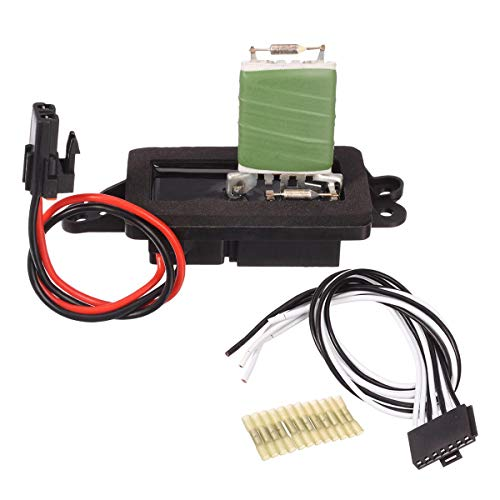 PartsSquare HVAC Blower Motor Resistor Fan Resistor with Harness 89019100 (for manual control only)