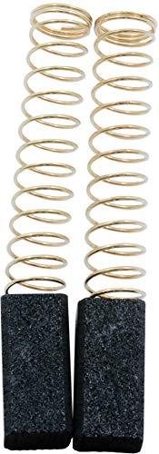 Escobillas de Carbón para BLACK & DECKER D104VR taladro - 6,35x6,35x13mm - 2.4x2.4x5.1