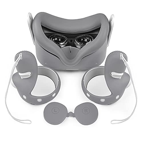 Colohas VR Cover Oculus Quest 2 Accessories, with Front Head Cover,...