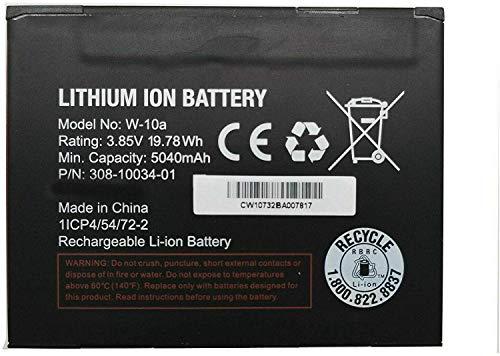 Onlyguo 3,85 V 19,78 Wh 5040 mAh Batteria W-10 W-10A per Netgear Nighthawk Router/Modem M1 MR1100