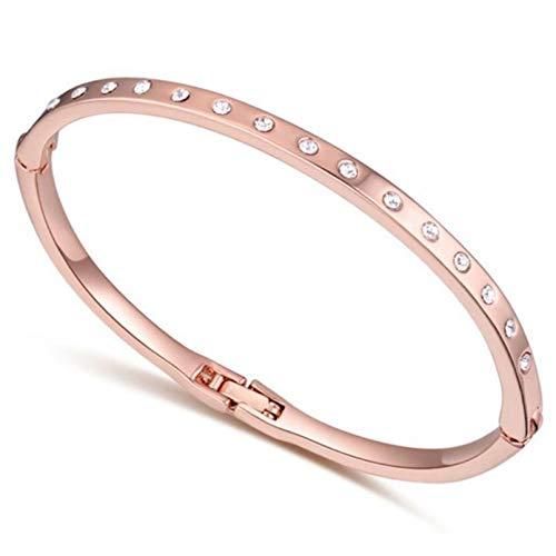 N/A Aniversario del día de la Madre Puede Abrir Pulseras de Boda de Moda Crystal Women One Direction Gift Jewelry Regalo de cumpleaños de San Valentín