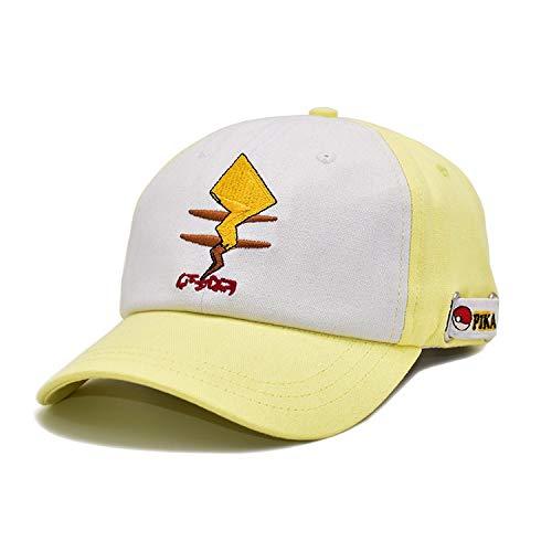 La lona del sombrero del bordado, gorra de béisbol de color, animado Sombrero, bidimensional Sombrero de sol, ajustable, transpirable, gorra de béisbol de dibujos animados de moda al aire libre de Pro