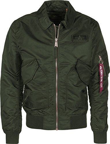 Alpha Industries Herren Jacken / Bomberjacke CWU LW PM grün 2XL
