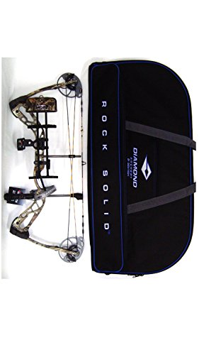 Diamond Edge SB-1 Compound Bow, Breakup Country Camo, RAK Package, Left Hand, 7-70lbs, with Diamond Soft Bow Case