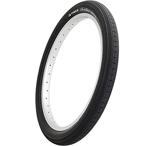 Tioga STREETBLOCK BMX neumático para BMX Unisex, Negro
