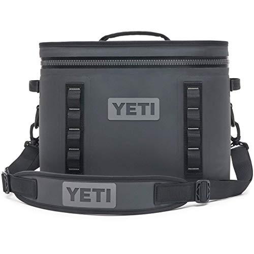 YETI Hopper Flip 18 Portable Cooler, Charcoal (Renewed)