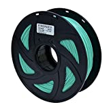 3D Flexible Green TPU Filament 1.75 mm, 2.2 LBS (1KG) Material: TPU