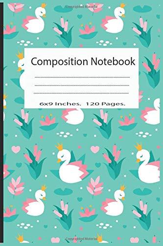 Composition Notebook: Pretty Wide Ruled Paper Notebook Journal | Cute Duck Workbook