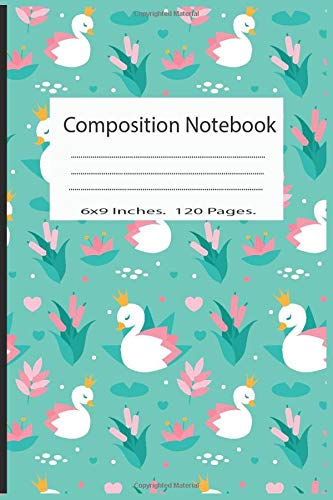 Composition Notebook: Pretty Wide Ruled Paper Notebook Journal | Cute Duck Workbook