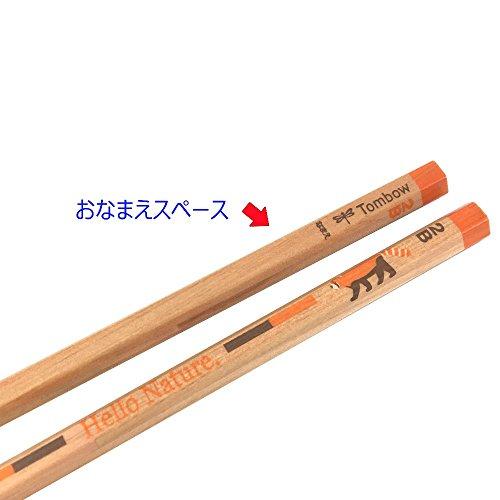 『トンボ鉛筆 鉛筆 ハローネイチャー かきかた 2B レッサーパンダ 1ダース KB-KHNLP2B』の2枚目の画像