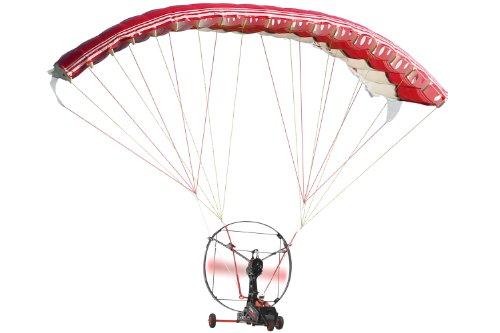 XciteRC 24002000 - Paracadute telecomandato, 2,4 GHz, Batteria LiPo Ricaricabile e Caricabatterie, Colore: Nero