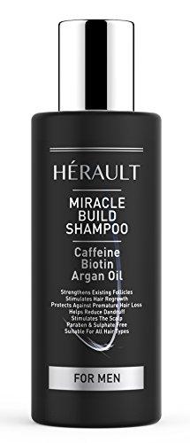 Shampoing à la caféine Miracle Build - anti perte de...