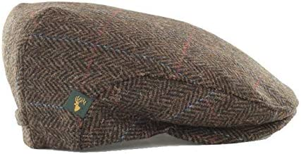 Mucros Weavers Men's Donegal Tweed Cap NEW before selling Style Max 82% OFF Traditional - Flat
