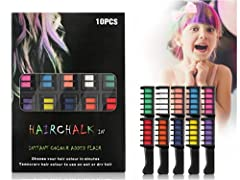 10 Farben Kamm, Temporär Haarfarbe