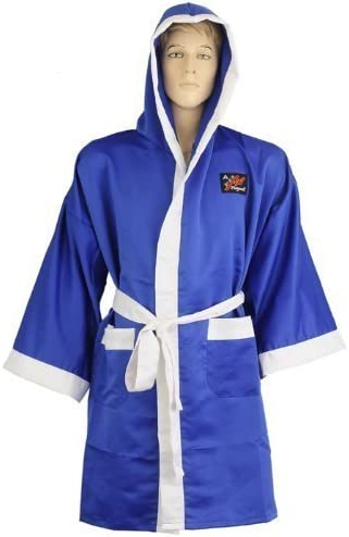 Playwell Boxing Gown 100/% Satin Full Length