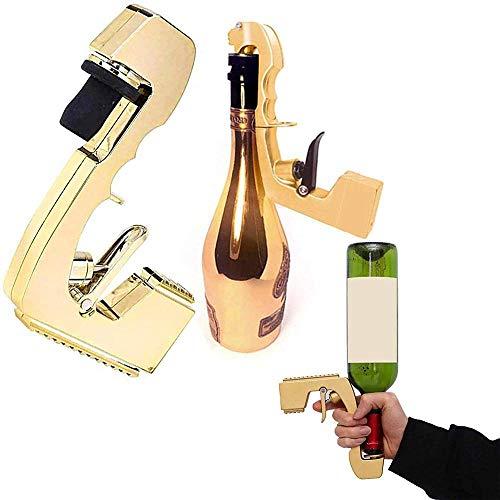 Nuevo dispensador de vino con tapón de champán, botella fuente, eyector de cerveza, eyector de cerveza, pistola de coqueteo para boda, fiesta, club nocturno