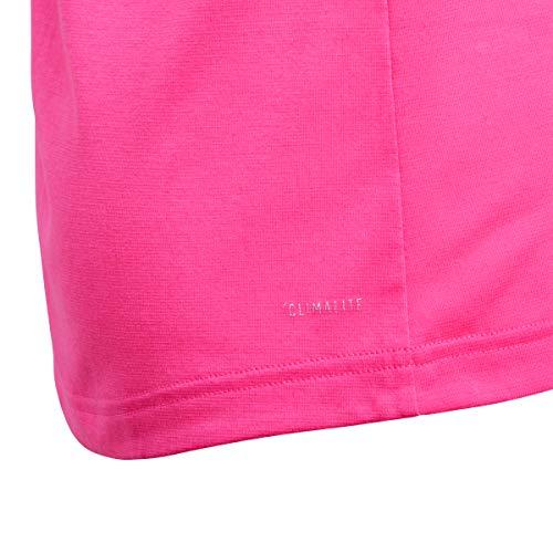 adidas - Fitness-T-Shirts für Mädchen in Real Pink S18, Größe 140