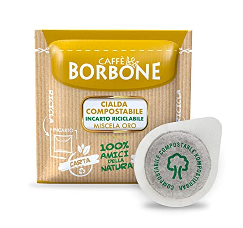 Caffè Borbone Cialda Compostabile, Miscela Oro - 150 Cialde - Sistema ESE