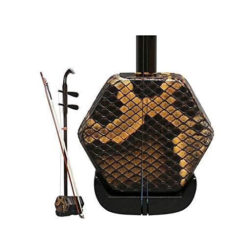 Erhu, Afrikanische Lobular Palisander Prüfungsleistungen Erhu, Palisander Instrument, National Instrument (Größe: 83cm) HUERDAIIT (Size : 83cm)