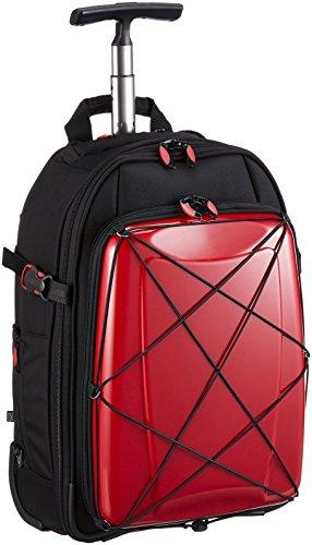 HIDEO WAKAMATSU スーツケース ソフト ハイブリッドギアトローリー 3WAY 53.5cm 85-7631