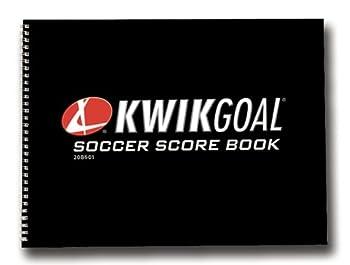 Kwik Goal Soccer Score Book 8 1/2-Inch H x 11-Inch W