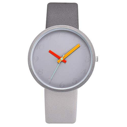 ZHUOHONG Mode vrouwen Quartz Horloge - Nieuwe Dames Horloge Eenvoudige Persoonlijkheid Digitaal Quartz Horloge Candy Kleur Horloge