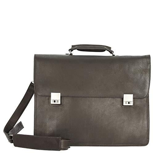 Harolds Country Aktentasche mit Laptopfach 41 cm L braun