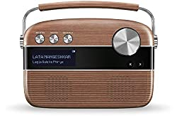Saregama Carvaan Hindi - Portable Music Player with 5000 Preloaded Songs, FM/BT/AUX (Oak Wood Brown),Shenzhen Hilux Technology,SC03,Saregama Carvaan speaker,Saregama speaker,Saregama speakers wireless bluetooth,bluetooth speakers,portable bluetooth speakers wireless,portable speakers,usb speaker,wireless speakers