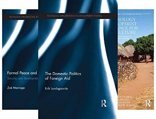 Routledge Explorations in Development Studies (44 Book Series)