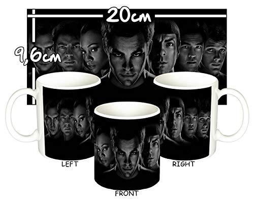 MasTazas Star Trek Personajes Cast 2009 Tasse Mug