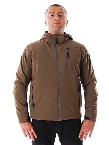 CMP Softshell Chaqueta, otoño/invierno, hombre, color marrón, tamaño L