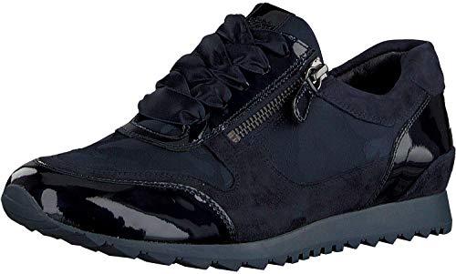 Hassia Damen Barcelona Low-Top Sneaker, Blau, 40 EU