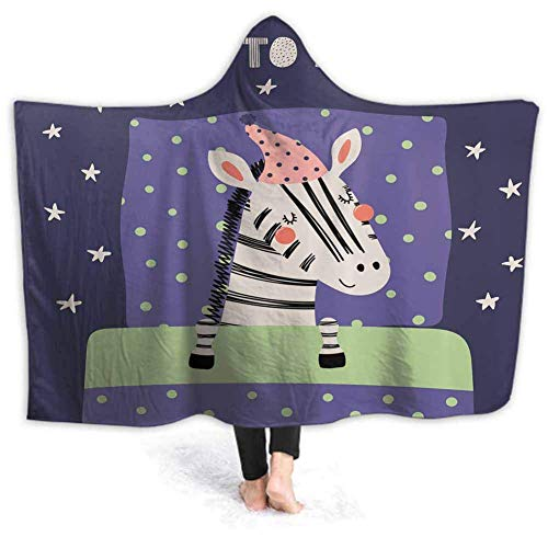 IUJL Manta Capucha Hooded Blanket for Kids Adults
