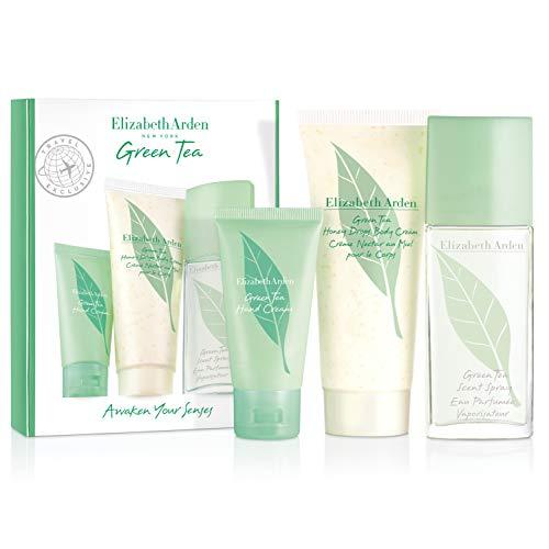 Green Tea Paquete de Regalo (Parfum 50ml, Crema Corporal 100ml y Crema de Manos 30ml)