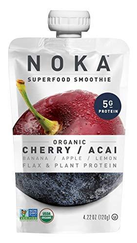 Noka Smoothie Superfood Cherry 2021 Organic Ounce 4.22 Acai Import