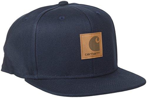 Carhartt Herren Logo Cap (6 Minimum) Baskenmütze, Blau (Dark Navy 1C.00), One Size